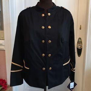 Ava & Viv Military Jacket